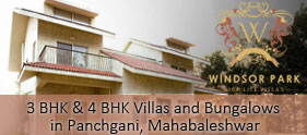 In Panchgani, Villas and Bungalows