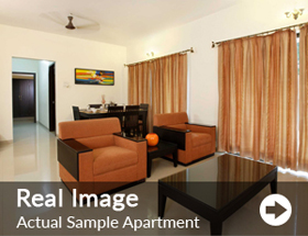 Actual Sample Apartment