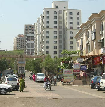 Kondhwa a fast growing suburb in Pune.